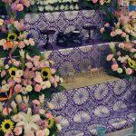 初盆の花祭壇