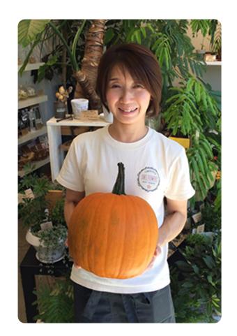 かぼちゃのサイズ