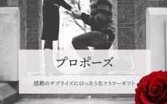 プロポーズ|豊橋,浜松の花屋「花風舎/Soel Flowers」