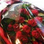男性から女性へお花を贈る日